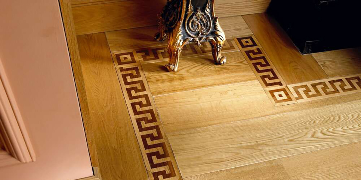 Inlaid Wood Floor Design